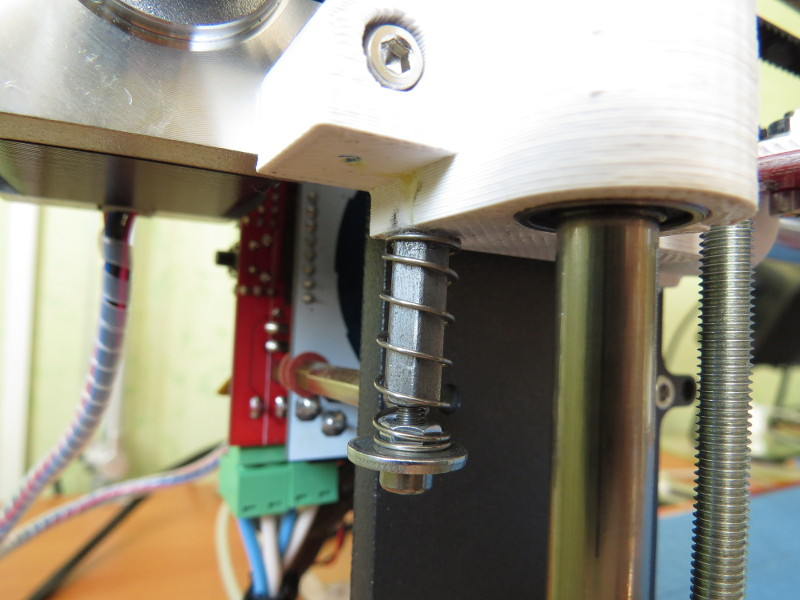 Z adjustable endstop
